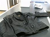HEIN GERICKE Coat/Jacket BLACK LEATHER JACKET